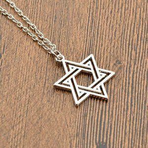 Jewelry - NWOT Silver Star of David Necklace